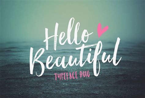 Kaos Hi Or Hey By Of Summer the most popular and best brush script fonts