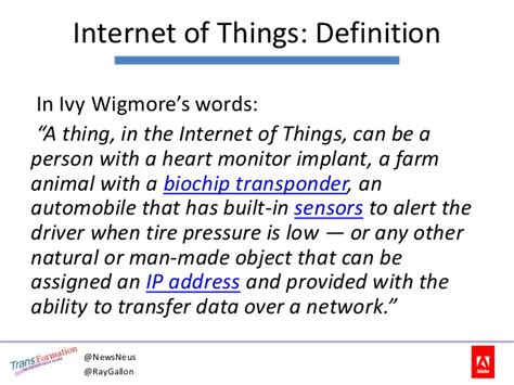 internet definition are you ready for the internet of things