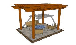 Building Plans For Gazebos And Pergolas by Attached Pergola Plans Myoutdoorplans Free Woodworking
