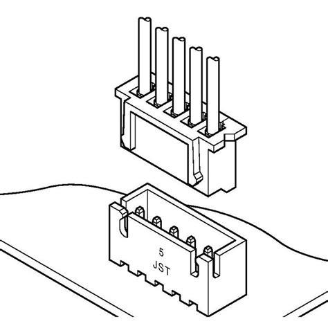 connector xh 3 pin untuk kabel rdd technologies