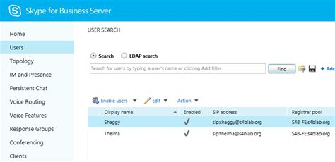Skype Search For Gt Get Csjosh A Skype For Business Configure Hybrid