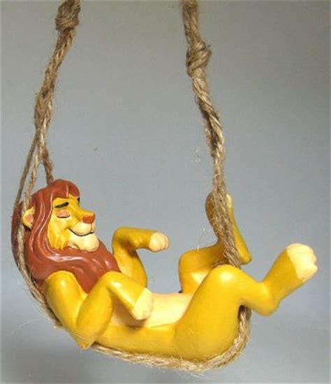 hammock ornament adult simba in hammock ornament from our christmas