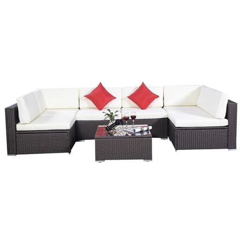 wicker couch set gym equipment outdoor furniture set pe wicker rattan sofa
