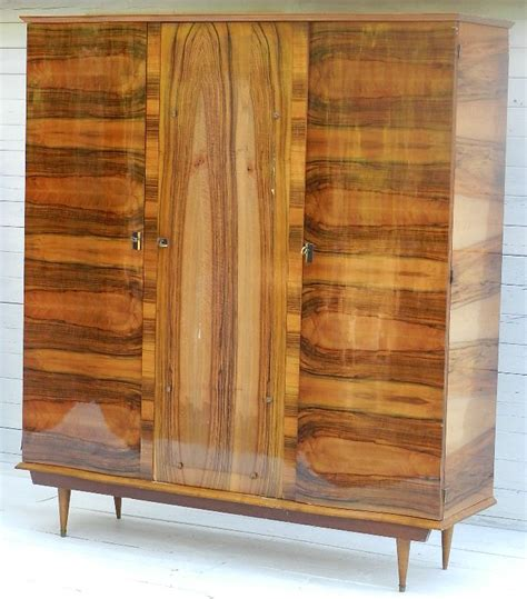 mid century armoire mid century french armoire wardrobe bookcase c20 in from tryst d amour
