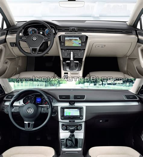 volkswagen passat 2015 interior old vs new 2015 vw passat vs 2011 vw passat