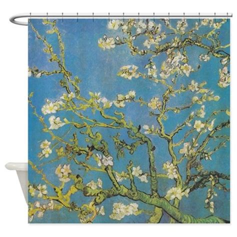 van gogh shower curtain best almond branches by van gogh shower curtain by