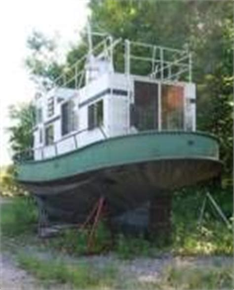 steel hull tug boats for sale 1957 steel hull trawler tug aluminum superstructure