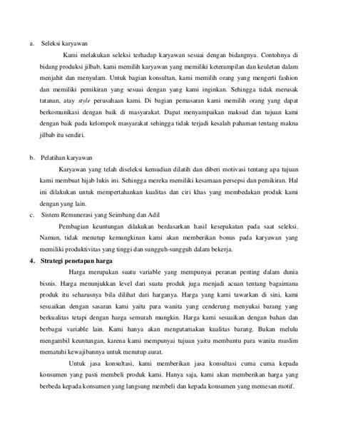 contoh membuat business plan sederhana contoh business plan jilbab shoe susu