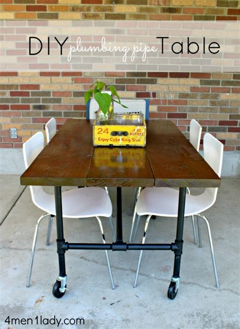 Plumbing Pipe Dining Table by Build Your Own Dining Table And