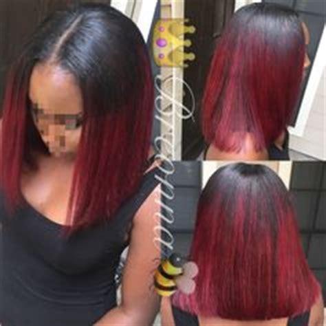 sew in bob jackson ms nicki minaj inspired ponytail braids by ms nelly