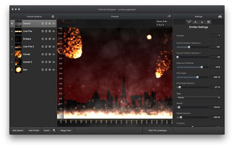layout editor mac free particle designer a particle simulation editor for mac