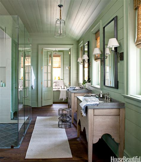 green home bathroom lake house bathroom green color bathroom decorating ideas