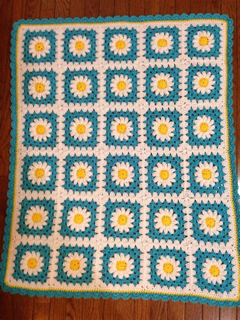 Size Of Baby Blanket For Crib Baby Blanket Turquoise Crib Size Afghan By Stichesbydeb