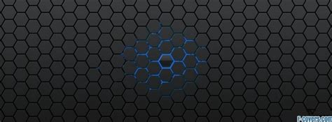grey hexagon pattern cool blue and grey hexagon pattern facebook cover timeline