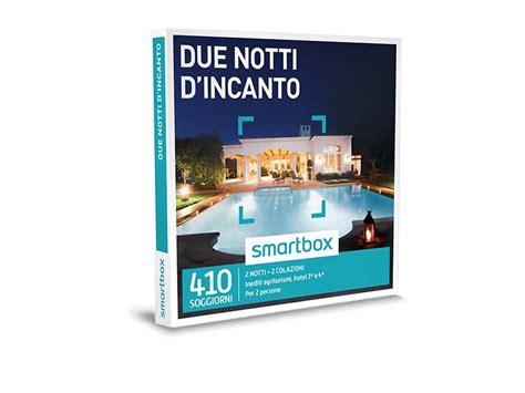 smartbox soggiorni cofanetto regalo due notti d incanto smartbox