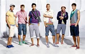 Modern fashion for japanese men