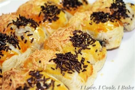 Choco Puff Karipop Coklat i i cook i bake banana chocolate cheese puffs molen pisang keju coklat