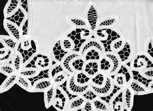 Elite battenburg lace window treatment the lace and