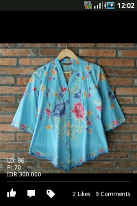 Bloes Batik batik blouse clothes