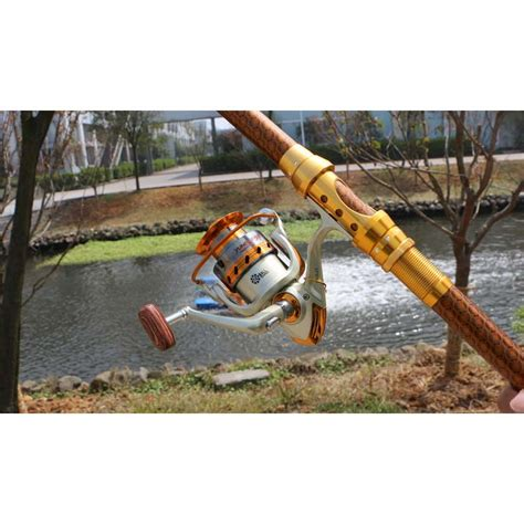 Hengtong Fishing Spinning Reel Reel Pancing 2 yumoshi gulungan pancing ef6000 metal fishing spinning reel 12 bearing golden