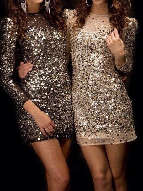 Sparkly Look It Or It by Dress Sparkling Dress Silver Sequins Sequins Sparkle