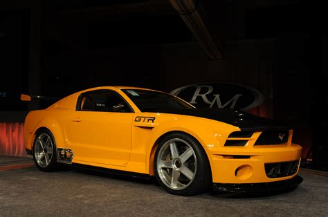 mustang gtr specs 2004 mustang gt r concept auctioned for 110 000