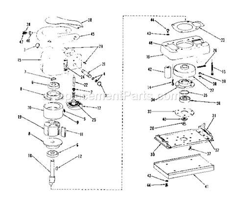 Craftsman Orbital Sander 75618927 Ereplacementparts Com
