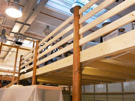 con soppalco in legno realizzazione soppalchi in legno su misura tecno legno a
