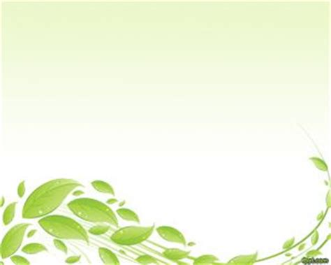 background cover buku green leaves powerpoint template
