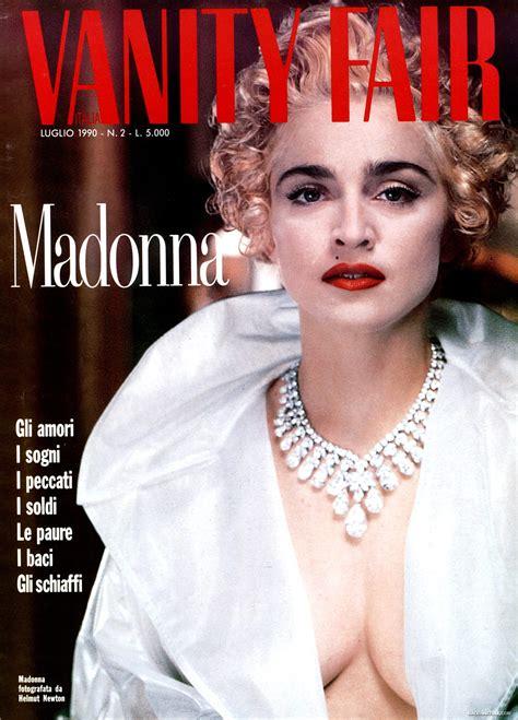 vanit fair italian magazine covers madonnatribe decade