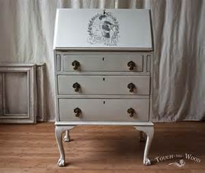 print transfer shabby chic furniture water decal vintage