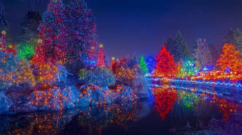 Vandusen Botanical Garden Festival Of Lights Wallpaper Archive