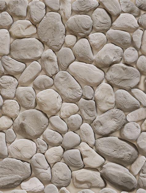with stones круглые stones wall texture речной