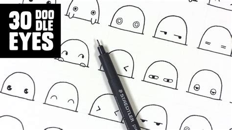 how to create a doodle character 30 kawaii to doodle