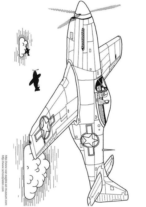 P 51 Mustang Coloring Pages by Coloring Page P 51 Mustang Img 3029