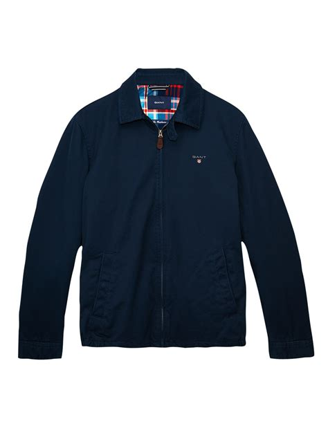 Jaket Windcheater City 1 gant harrington windcheater jacket in blue for lyst