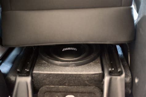 Jeep Wrangler Sub Box Jeep Wrangler Unlimited Custom Sound System Installation