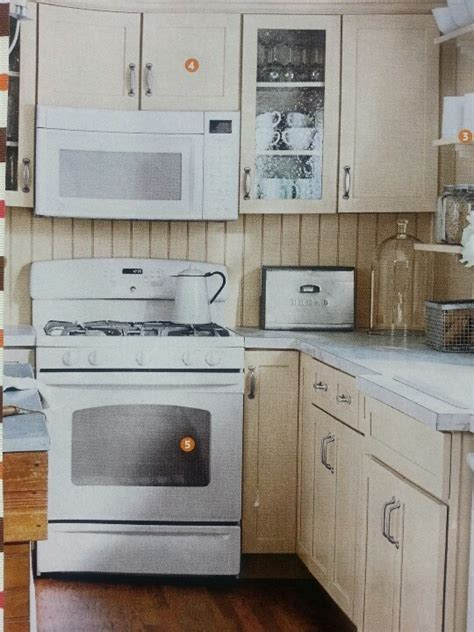 Painted Kitchen Cabinets With White Appliances by Cabinets With White Appliances Kitchen Remodel