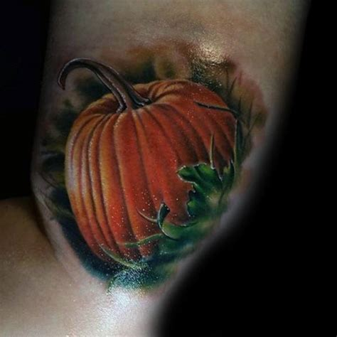 pumpkin tattoos 60 pumpkin tattoos for o lantern design ideas
