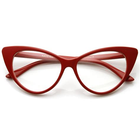 optical rx clear lens glasses tagged quot cat eye quot zerouv