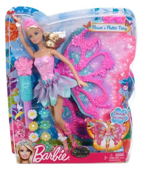 barbie flower  flutter fairy barbie doll buy