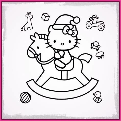 imagenes de navidad para dibujar bonitas dibujos de hello kitty para imprimir de navidad archivos