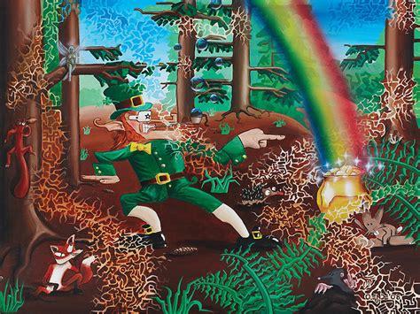s day 2008 a leprechaun s day 2008 acryl auf leinwand endes