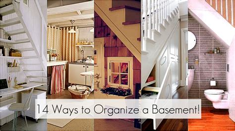 how to organize your basement 14 ways to organize a basement jpg images frompo