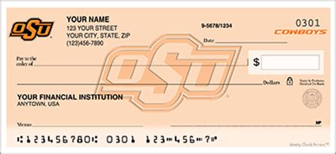 Oklahoma Background Check Oklahoma Checks Oklahoma Ncaa Logo Personal Check Designs Checkspressions