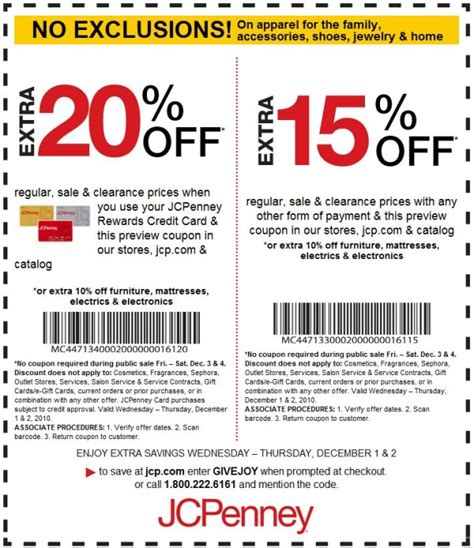 jcpenney printable coupons feb 2016 jcpenney coupons in store barcode