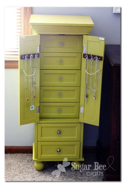 How To Build A Jewelry Armoire by 17 Best Ideas About Standing Jewelry Box On