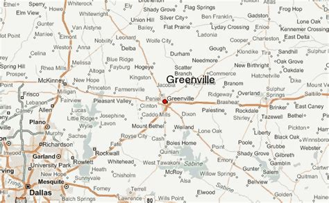map of greenville texas weather greenville tx pictures to pin on clanek