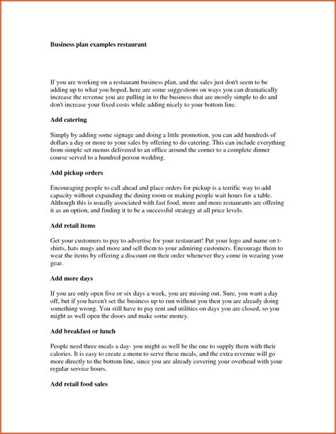 business plan template for existing business business plan template for existing business business plan