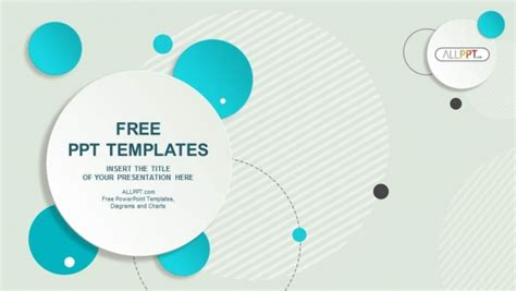 powerpoint template design free abstract design circle powerpoint templates